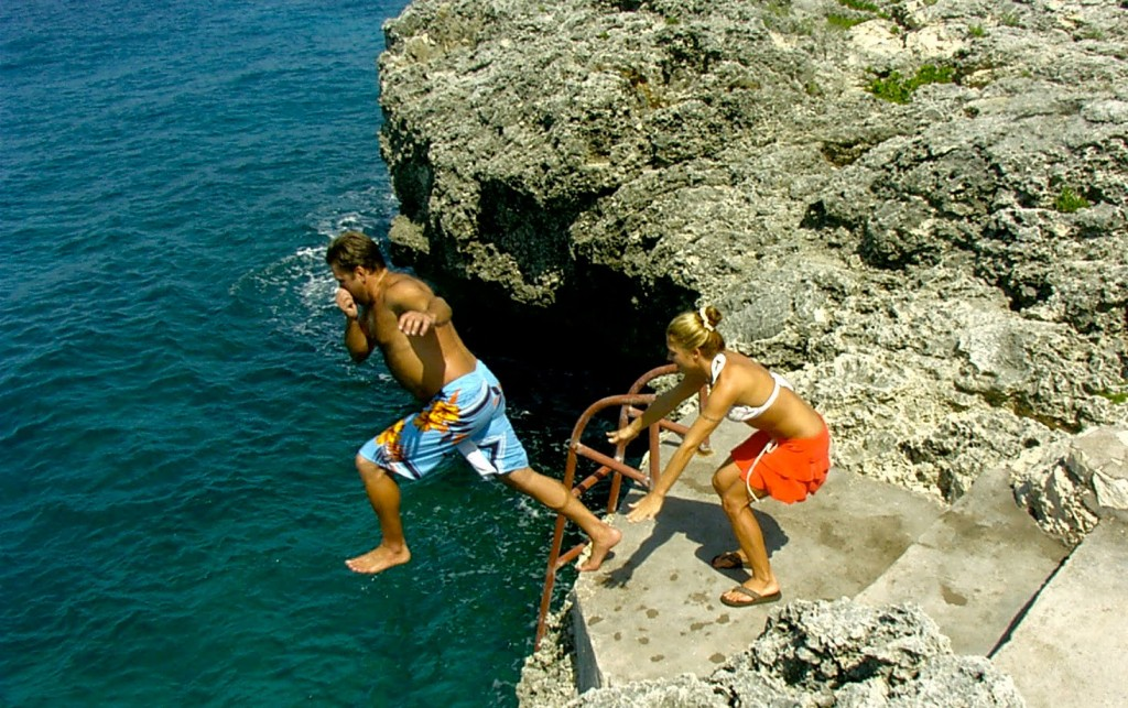 Cliff Diving Jamaica